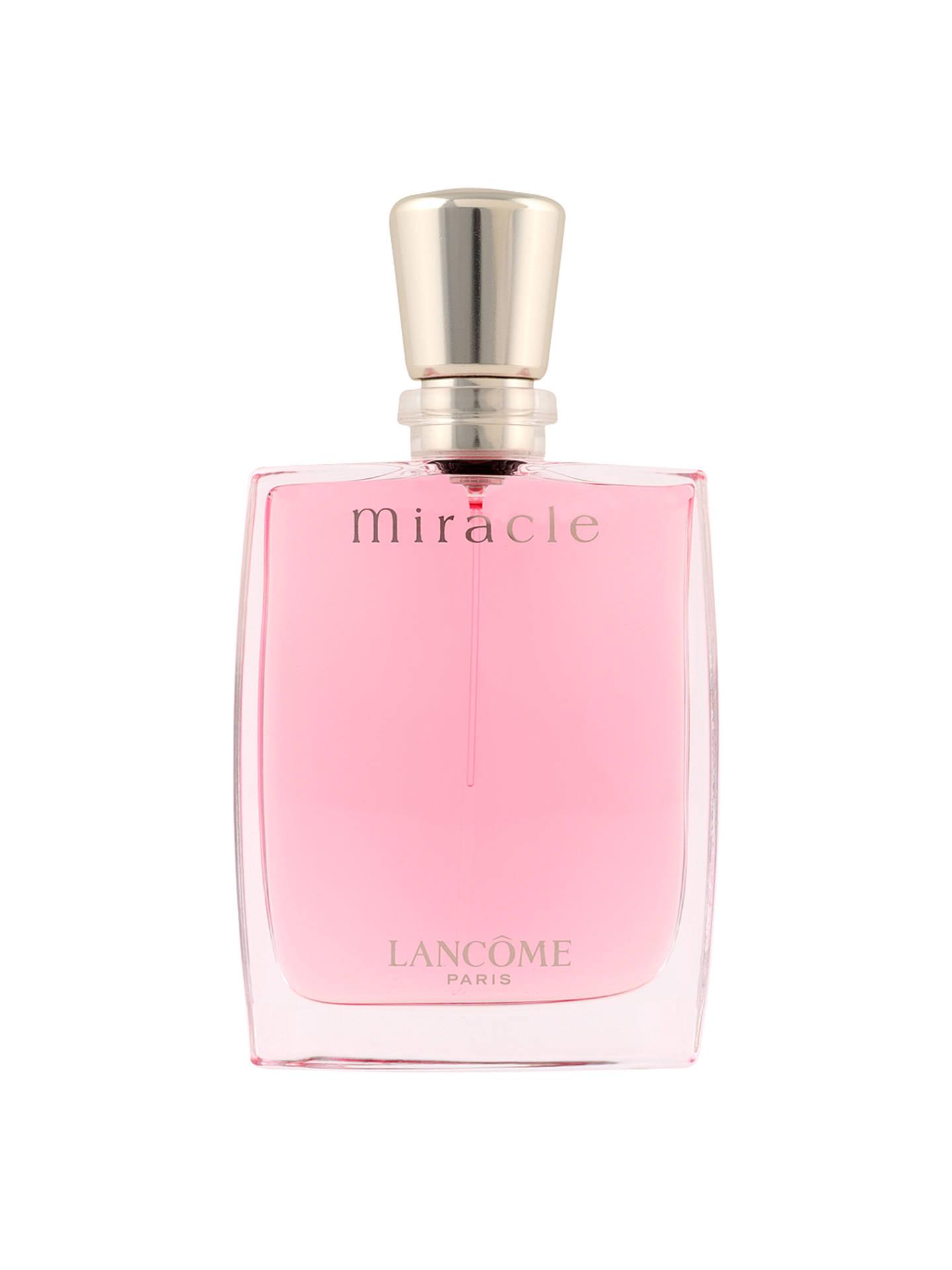 40e0d90e6 Buy Lancôme Miracle Eau de Parfum Spray, 30ml Online at johnlewis.com