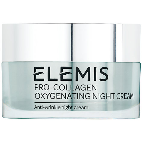Buy Elemis Pro-Collagen Oxygenating Night Cream, 50ml Online at johnlewis.com