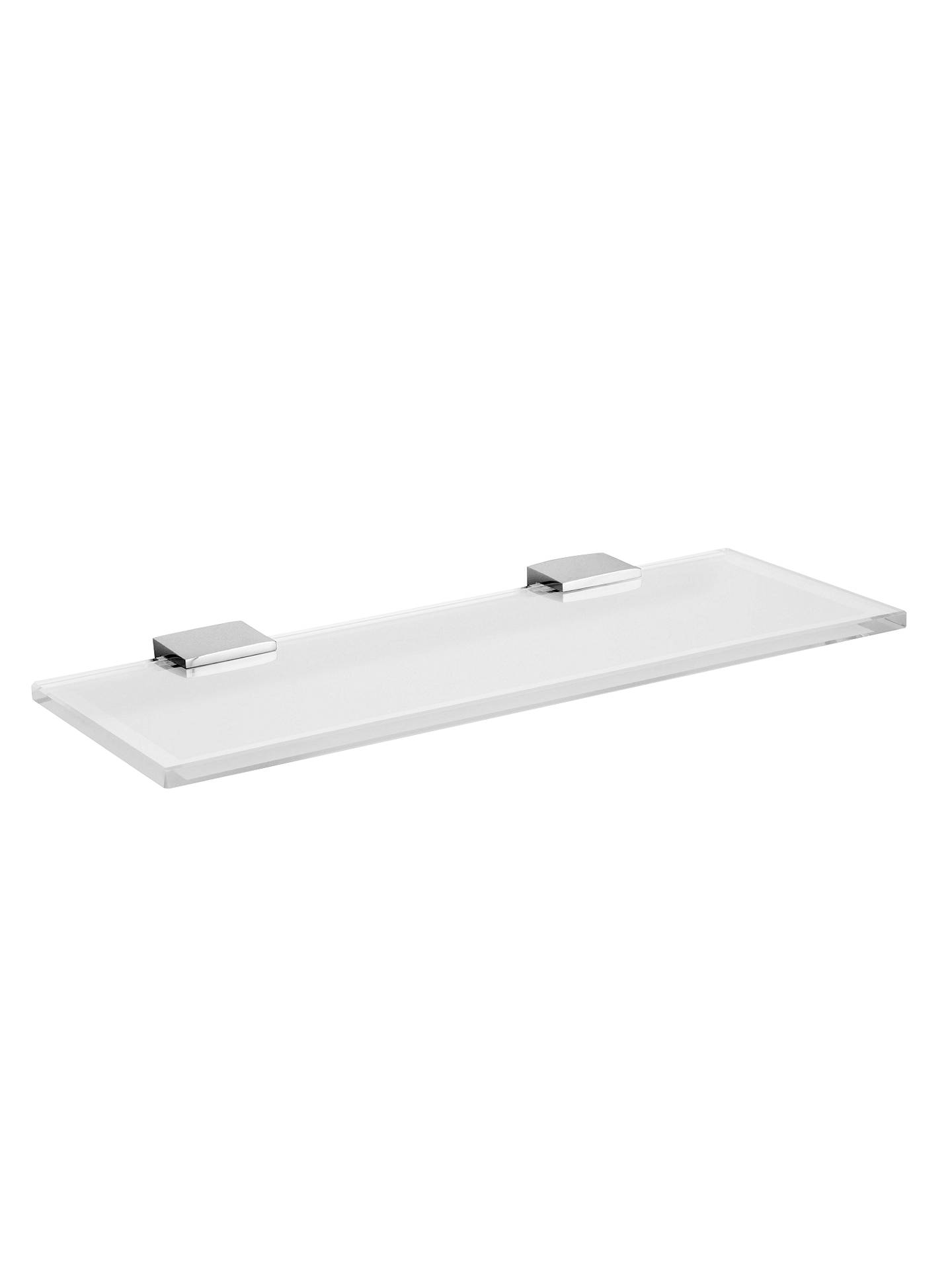 Miller Frosted Glass Bathroom Shelf at John Lewis & Partners
