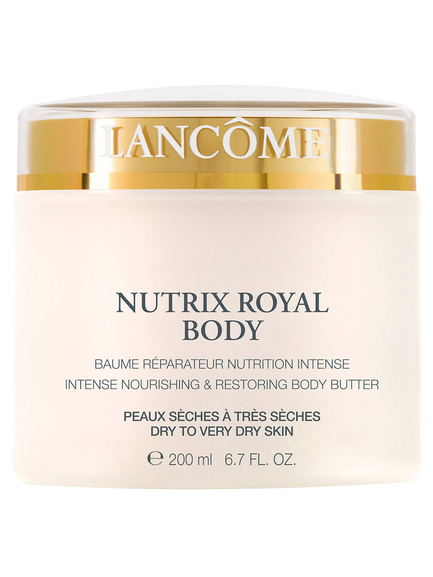 Buy Lancôme Nutrix Royal Body Butter, 200ml Online at johnlewis.com