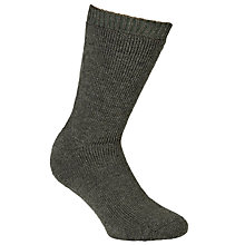 Buy Barbour Calf Length Wellington Socks, Green Online at johnlewis.com