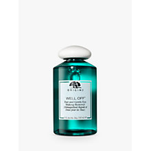 Buy Origins Well Off® Fast And Gentle Eye Makeup Remover, 150ml Online at johnlewis.com