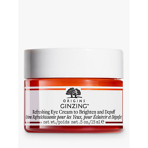 Buy Origins GinZing™ Refreshing Eye Cream To Brighten And Depuff, 15ml Online at johnlewis.com