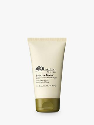 Origins Save the Males™ Multi-Benefit Moisturiser, 75ml