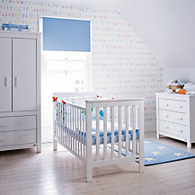 John Lewis Lasko Nursery Furniture, White