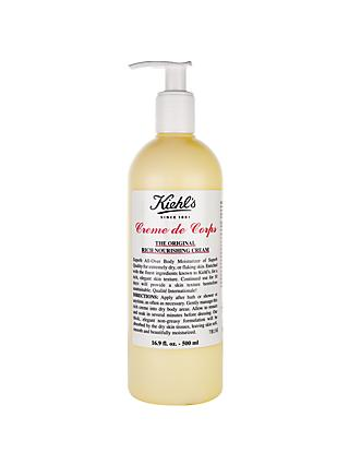 Kiehl's Creme de Corps (Pump Bottle), 500ml
