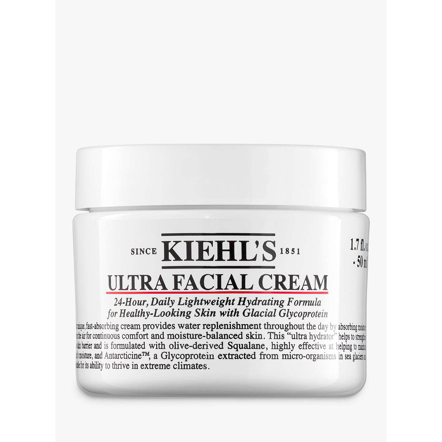 BuyKiehl's Ultra Facial Cream, 50ml Online at johnlewis.com