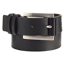 Buy John Lewis Double Keeper Belt, Black Online at johnlewis.com