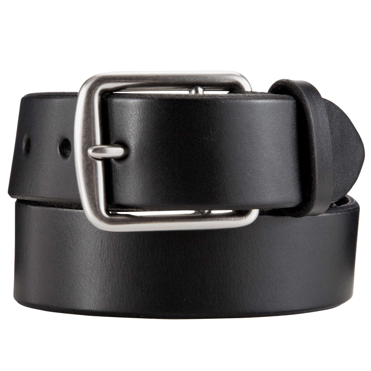 BuyPolo Ralph Lauren Leather Belt, Black, 32 Online at johnlewis.com