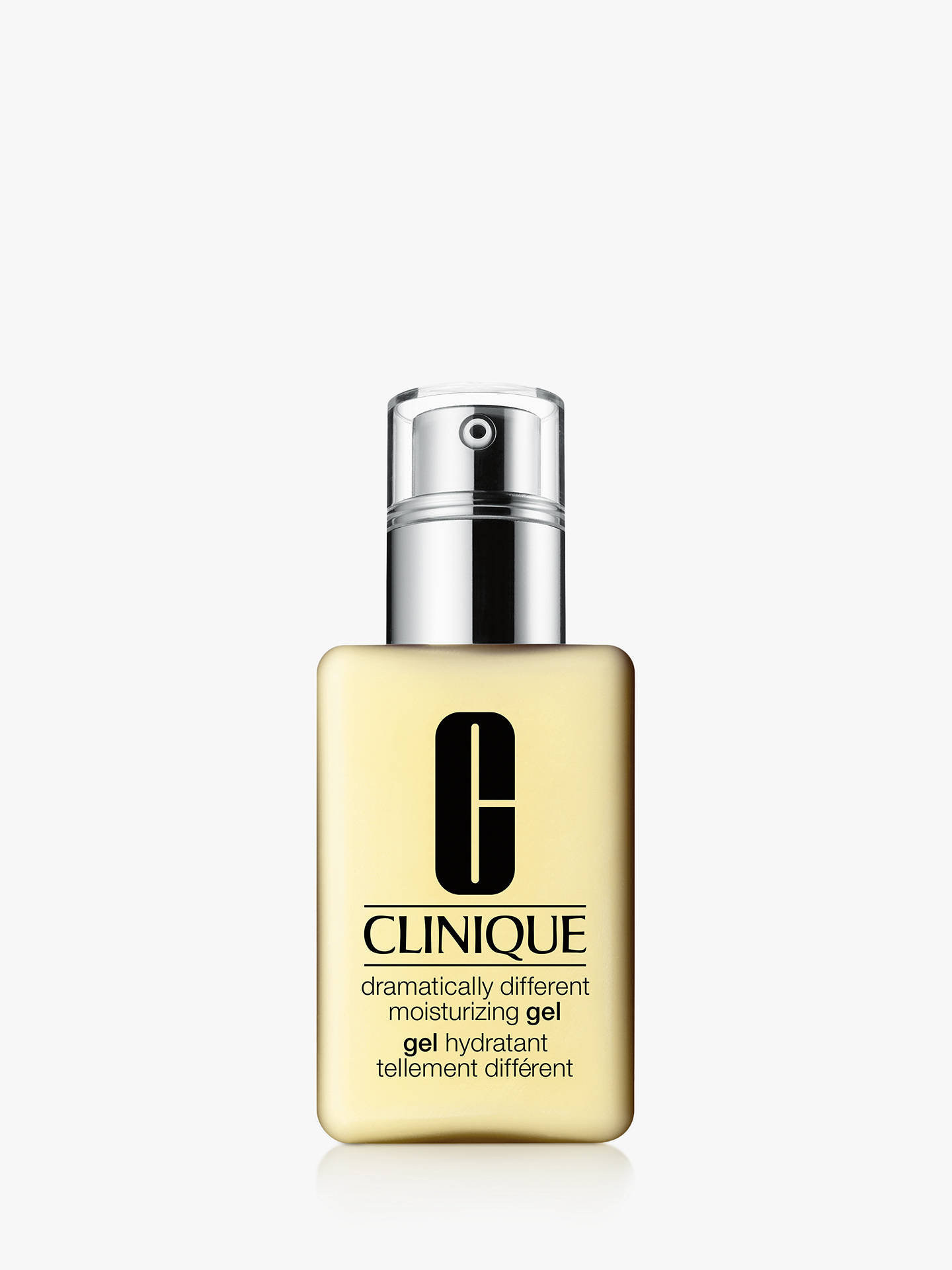 Buy Clinique Dramatically Different Moisturising Gel With Pump - Combination to Oily Skin Types, 125ml Online at johnlewis.com