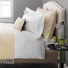 Buy John Lewis Exquisite Genuisa Cotton Bedding, White Online at johnlewis.com
