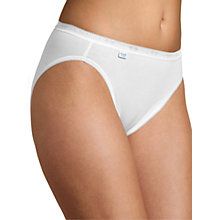 Buy Sloggi Tai Briefs, Pack of 3, White Online at johnlewis.com