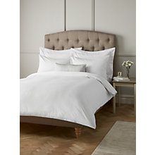 Buy John Lewis Wide Satin Stripe Duvet Cover and Pillowcase Set Online at johnlewis.com