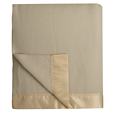 Buy John Atkinson by Hainsworth Empress Merino Wool Blanket Online at johnlewis.com