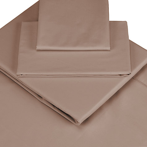 Buy John Lewis The Basics Combed Polycotton Fitted Sheets Online at johnlewis.com