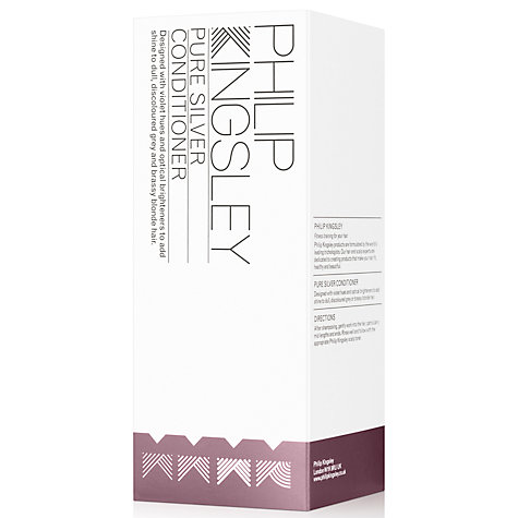Buy Philip Kingsley Pure Silver Conditioner, 250ml Online at johnlewis.com
