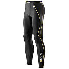 Buy Skins Men's A200 Long Compression Tights, Black Online at johnlewis.com