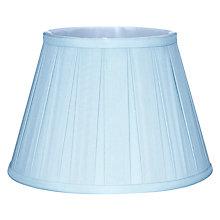 Blue ceiling lamp shades john lewis buy john lewis oratorio silk tapered shade online at johnlewis aloadofball Choice Image