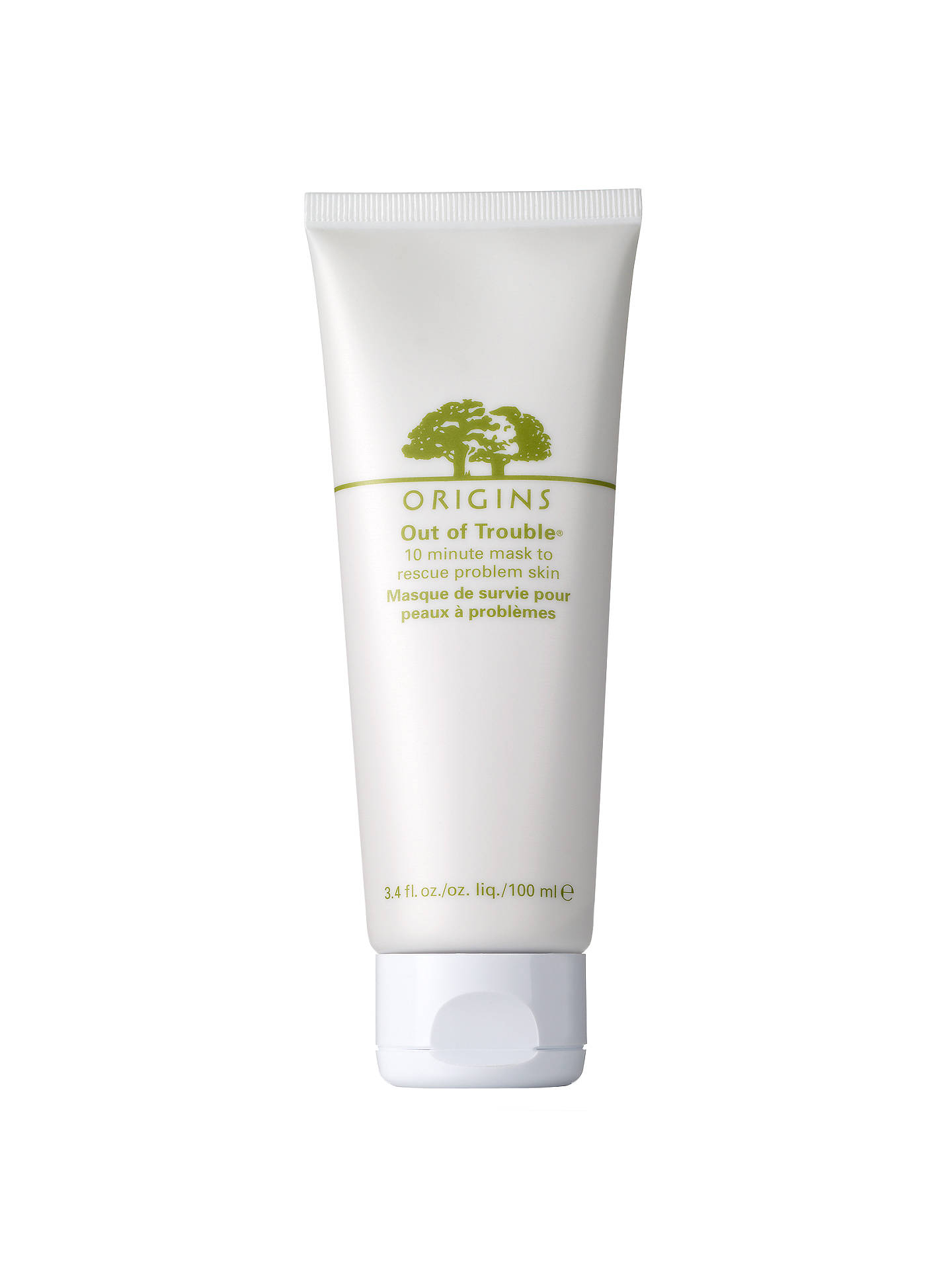 BuyOrigins Out of Trouble® 10 Minute Mask To Rescue Problem Skin, 100ml Online at johnlewis.com