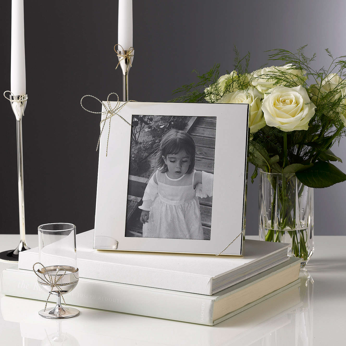 "BuyVera Wang by Wedgwood Love Knots Photo Frame,  5 x 7"" (13 x 18cm) Online at johnlewis.com"