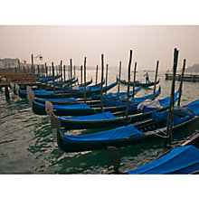Buy Assaf Frank - Venice, Gondolas Online at johnlewis.com