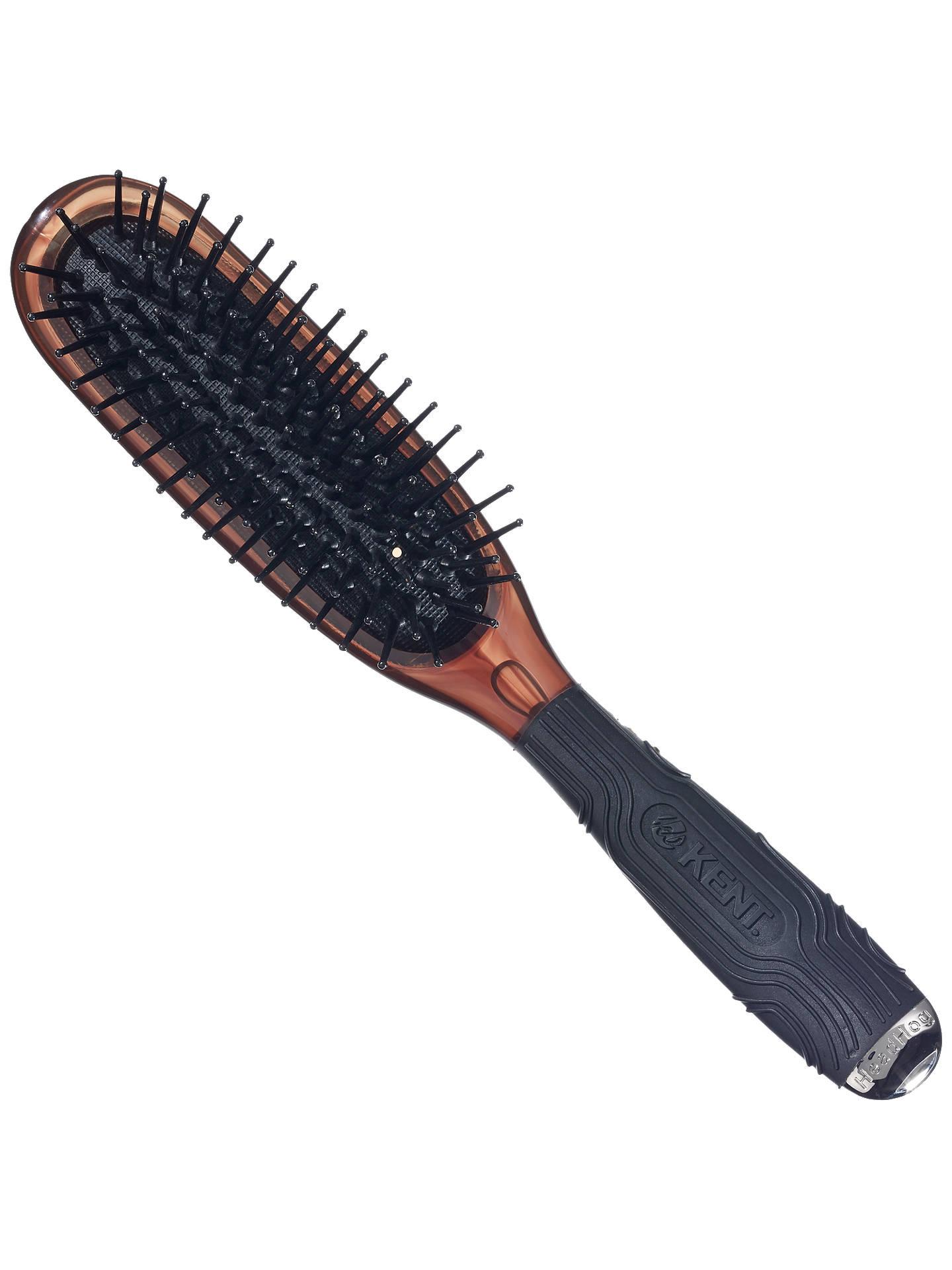 Kent Headhog Cushioned Nylon Tipped Hairbrush At John Lewis Partners Hair Brus Buykent Online