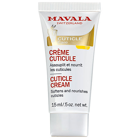 Buy MAVALA Cuticle Cream, 15ml Online at johnlewis.com