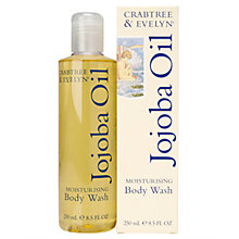 Buy Crabtree & Evelyn Jojoba Oil Moisturising Body Wash, 250ml Online at johnlewis.com