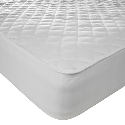 John Lewis Active Anti Allergy Quilted Mattress Protector
