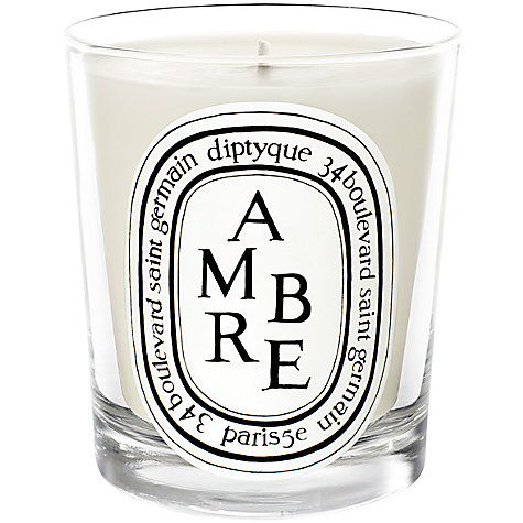 Buy Diptyque Ambre Scented Candle, 190g Online at johnlewis.com