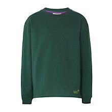 Buy Cubs Long Sleeve Sweatshirt, Green Online at johnlewis.com