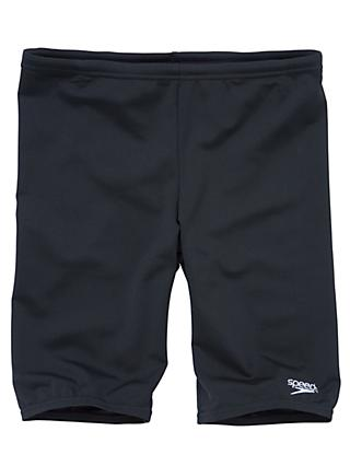 Speedo Boys' Jammers Swimming Shorts, Black
