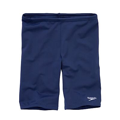 Image of Speedo Boys' Jammers Swimming Shorts, Navy