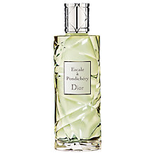 Buy Dior Escale A Pondichéry Eau de Toilette Spray Online at johnlewis.com