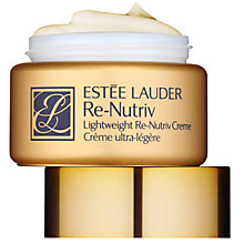 Buy Estée Lauder Re-Nutriv Lightweight Creme, 50ml Online at johnlewis.com