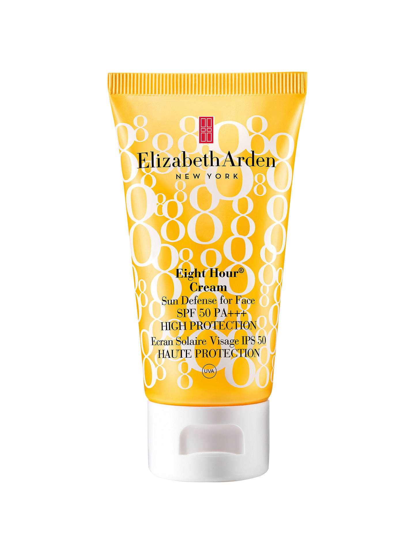 Buy Elizabeth Arden Eight Hour® Cream Sun Defense for Face SPF 50 High Protection, 50ml Online at johnlewis.com