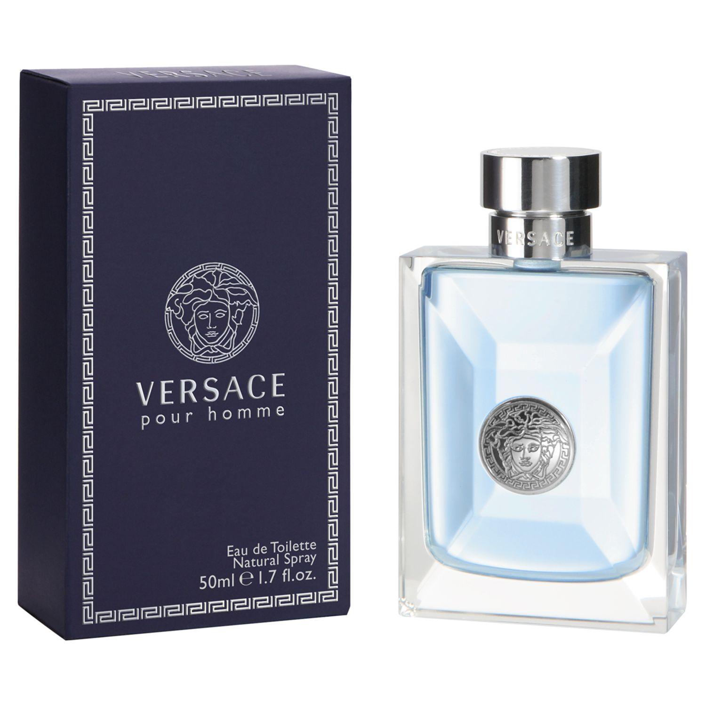 Versace Pour Homme Eau de Toilette Vaporiser at John Lewis   Partners 61a0a536ec30