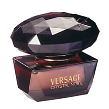 Buy Versace Crystal Noir Eau de Toilette, 50ml Online at johnlewis.com