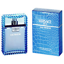 Buy Versace Man Eau Fraîche Eau de Toilette Online at johnlewis.com