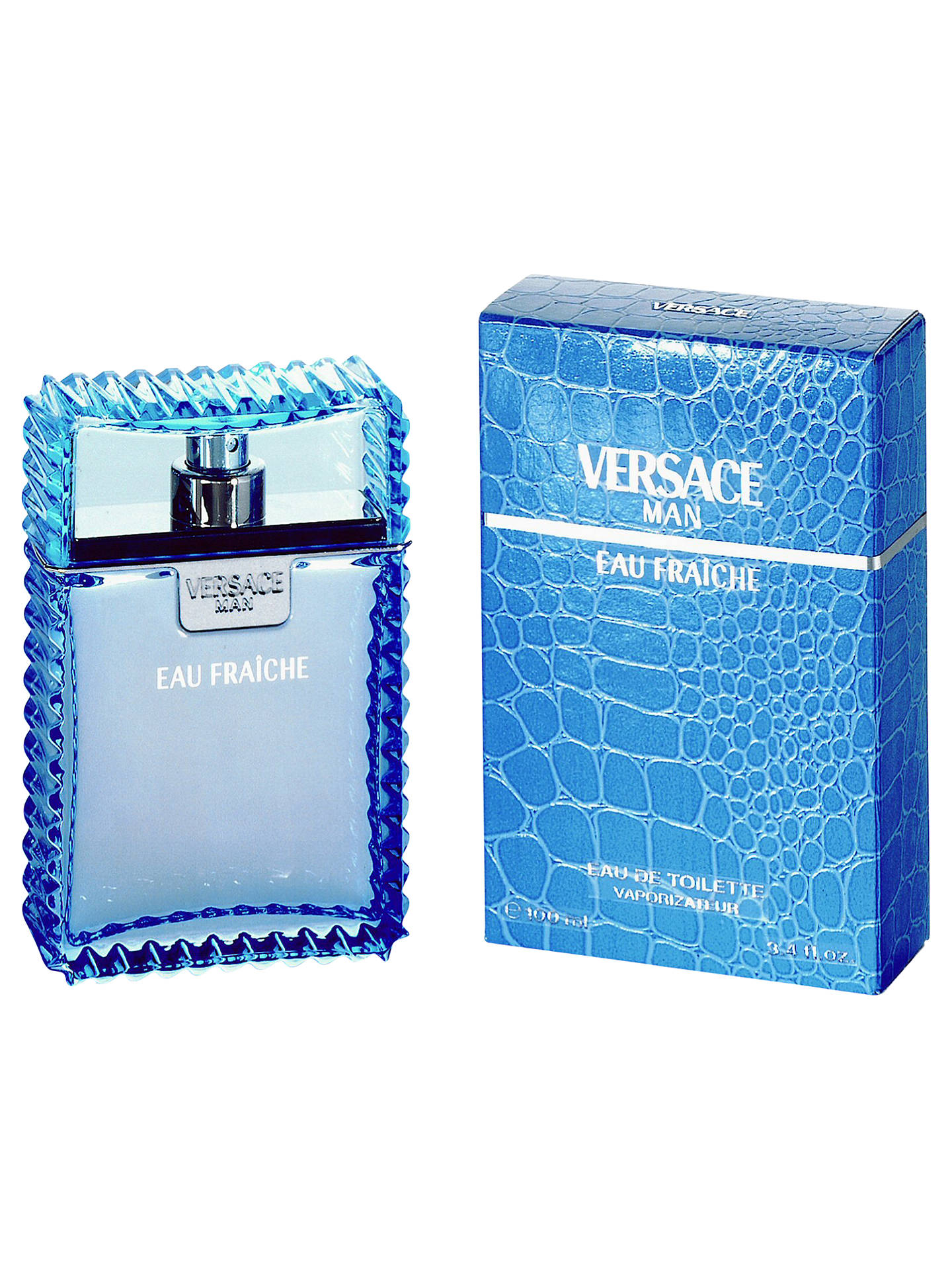Buy Versace Man Eau Fraîche Eau de Toilette, 50ml Online at johnlewis.com