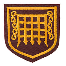 Buy The Romsey School Girls' Blazer Badge Online at johnlewis.com