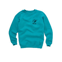Buy Highfield CE Primary School Boys' Sweatshirt, Jade Online at johnlewis.com