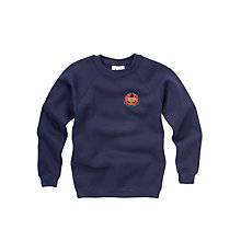 Buy Thornden School Unisex Sweatshirt, Navy Online at johnlewis.com