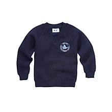 Buy Our Lady Catholic Primary School V-Neck Sweatshirt, Navy Online at johnlewis.com