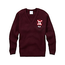 Buy The Sele School Unisex Jumper, Maroon Online at johnlewis.com