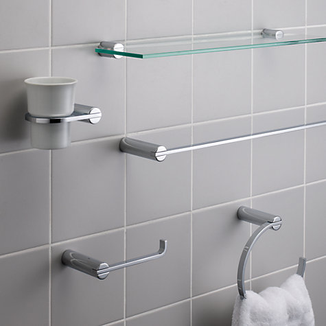 Buy John Lewis Solo Toilet Roll Holder, Chrome Online at johnlewis.com