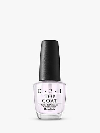 OPI Nail Lacquer Top Coat, 15ml