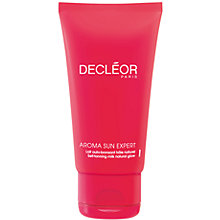 Buy Decléor Self-Tanning Milk Natural Glow - Face And Body, 125ml Online at johnlewis.com