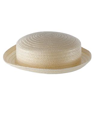 School Girls' Straw Boater