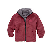 Buy Woodhill School Unisex Reversible Coat, Maroon Online at johnlewis.com